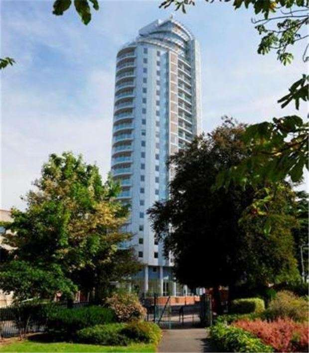 2 Bedrooms Flat for sale in Altitude Apartments, 9 Altyre Road, CROYDON, CR0 5BN