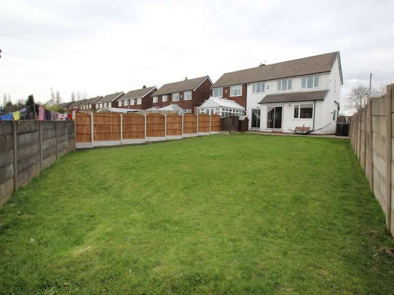 5 Bedrooms Semi Detached House for sale in Hertford Drive, Tyldesley, Manchester, M29