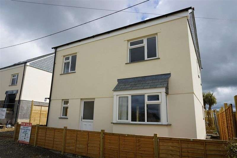 4 Bedrooms Property for sale in An opportunity to purchase a brand new four bedroom detached property in a beautiful Cornish Village and bespoke to personal needs. Four bedrooms two en-suites. Arranged over three floors. Parking and gardens.