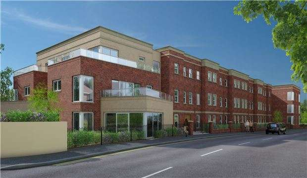 2 Bedrooms Flat for sale in Stroudwater Court, 1, Cainscross Road, Stroud, Glos, GL5 4ET