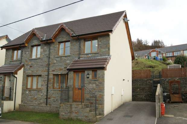 3 Bedrooms Semi Detached House for sale in Park View, Abercynon, Mountain Ash, CF45