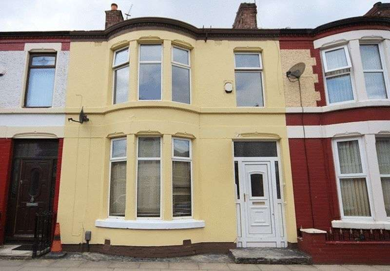 3 Bedrooms Terraced House for sale in Orleans Road, Old Swan, Liverpool, L13