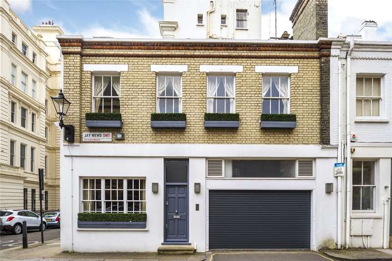 3 Bedrooms Mews House for sale in Jay Mews, London, SW7