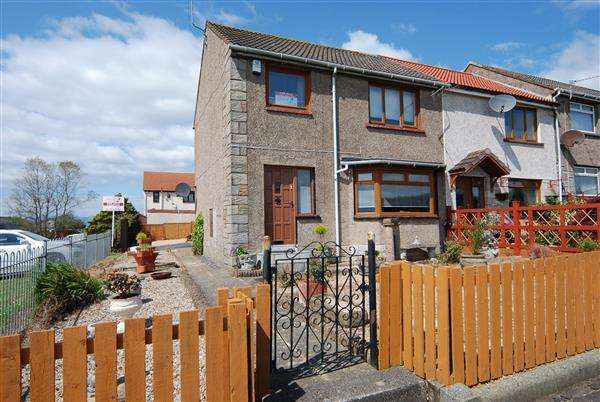 3 Bedrooms End Of Terrace House for sale in Primrose Place, Saltcoats