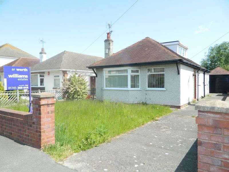2 Bedrooms Detached Bungalow for sale in South Drive, Rhyl