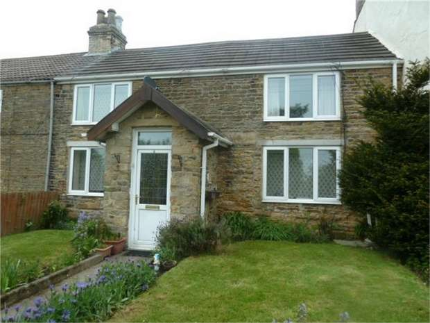 3 Bedrooms Terraced House for sale in North Bitchburn Terrace, North Bitchburn, CROOK, Durham