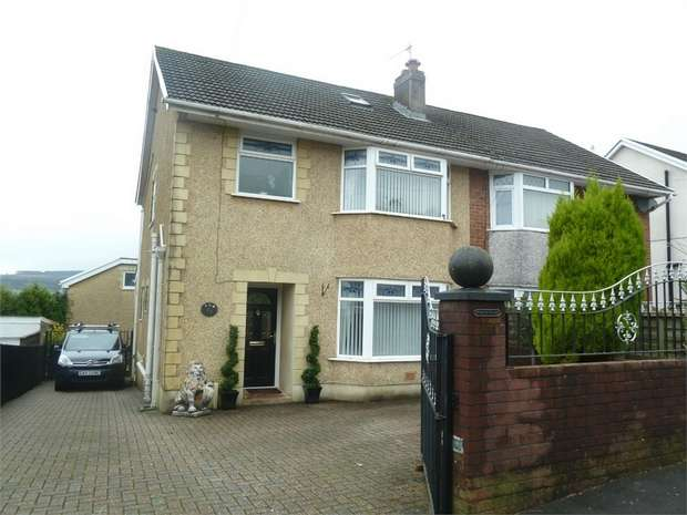 3 Bedrooms Semi Detached House for sale in St Marys Crescent, Garth, Maesteg, Mid Glamorgan