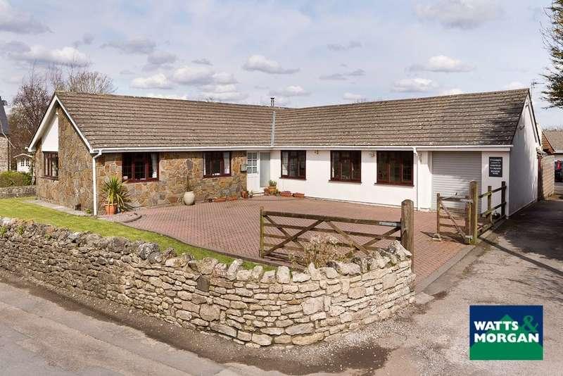 4 Bedrooms Detached Bungalow for sale in Llangan, Vale Of Glamorgan, CF35 5DW