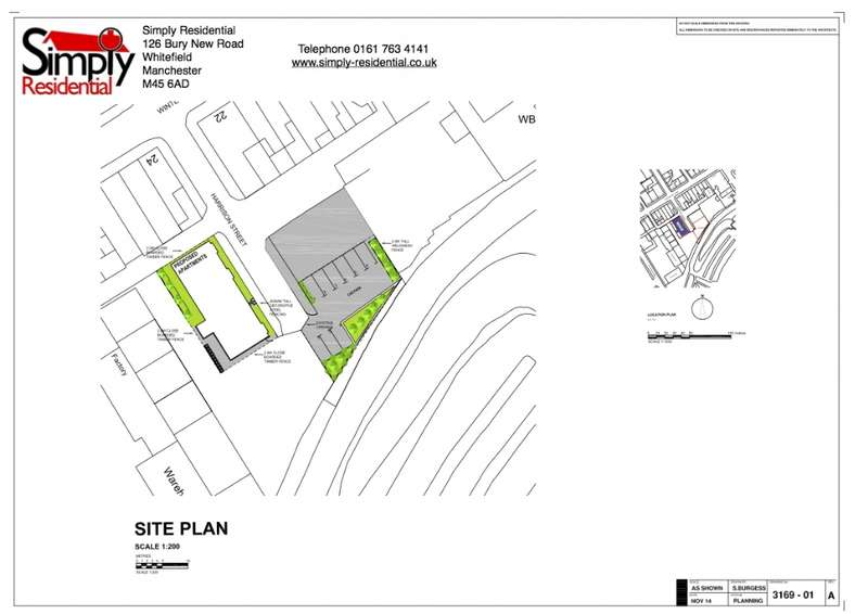 Land Commercial for sale in Harrison St