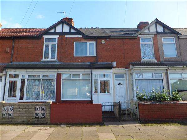 2 Bedrooms Terraced House for sale in Stuarts Road, Stechford, Birmingham