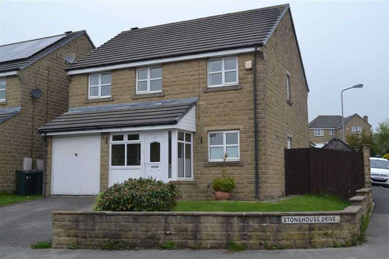 4 Bedrooms Detached House for sale in Stonehouse Drive, Queensbury, Bradford