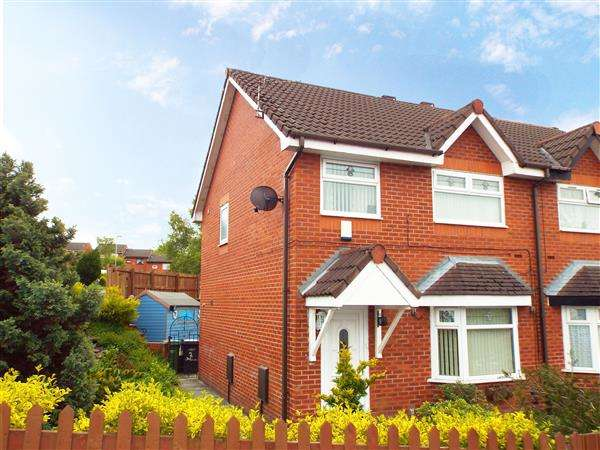 3 Bedrooms Semi Detached House for sale in Overdale Close, Oldham