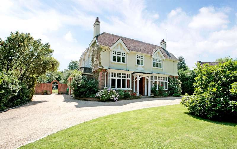 5 Bedrooms Detached House for sale in Nuthurst Road, Maplehurst, Horsham, West Sussex, RH13