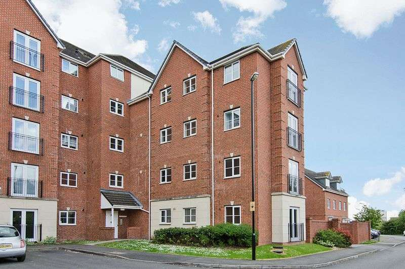 2 Bedrooms Flat for sale in Woodcutter Close, Walsall