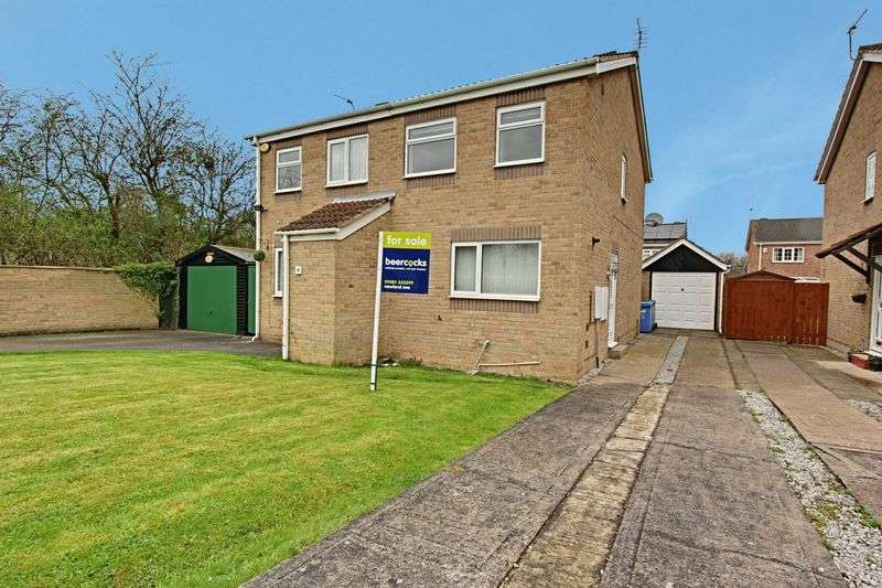 2 Bedrooms Property for sale in Brunslow Close, Hull
