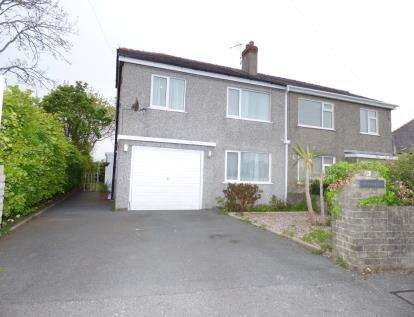 4 Bedrooms Semi Detached House for sale in Bryn Eithinog, Bangor, Gwynedd, LL57
