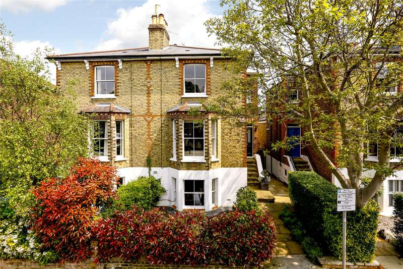 4 Bedrooms Semi Detached House for sale in Townshend Road, Richmond, TW9