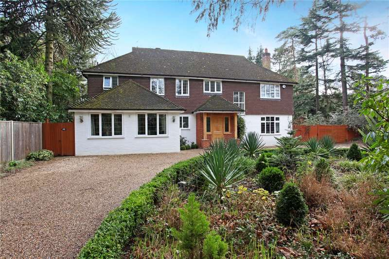 5 Bedrooms Detached House for sale in Blackdown Avenue, Woking, Surrey, GU22