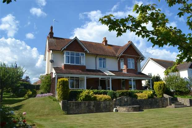 4 Bedrooms Detached House for sale in Cranford Avenue, EXMOUTH, Devon