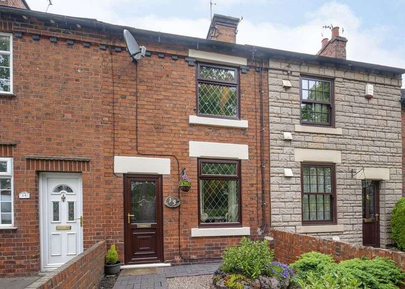 2 Bedrooms Terraced House for sale in Rawson Green, Belper