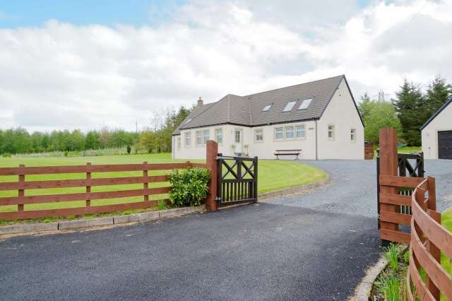 4 Bedrooms Detached House for sale in , Near Patna, East Ayrshire, KA6 7HA