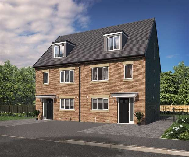 3 Bedrooms Semi Detached House for sale in The Benedict, Eden Field, Newton Aycliffe, Durham