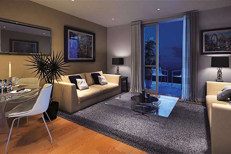 2 Bedrooms Flat for sale in Canary Gateway, Limehouse, E14