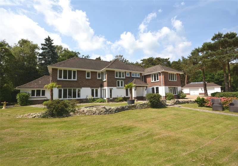 5 Bedrooms Detached House for sale in Sandy Down, Boldre, Lymington, Hampshire, SO41