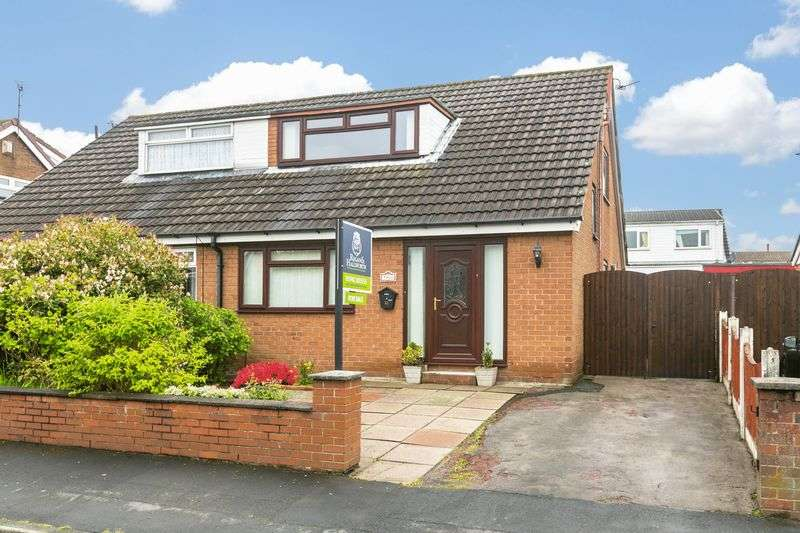 3 Bedrooms Semi Detached House for sale in Bor Avenue, Hawkley Hall, WN3 5JX