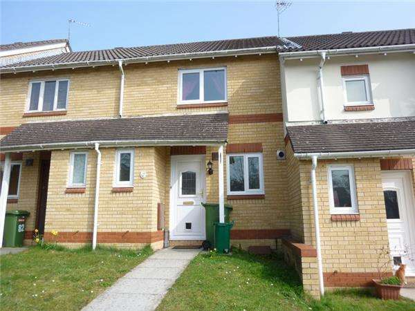 2 Bedrooms Terraced House for sale in Clos Myddlyn, BEDDAU CF38 2JT