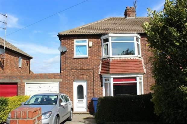3 Bedrooms Semi Detached House for sale in Broadway East, Redcar, North Yorkshire