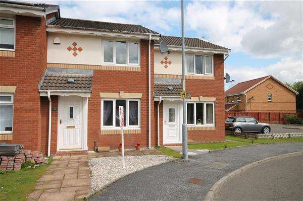 2 Bedrooms Terraced House for sale in Thistledown Grove, Victoria Park, Coatbridge
