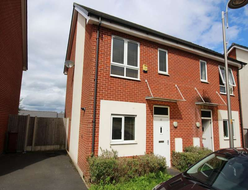 2 Bedrooms Semi Detached House for sale in Abraham Street, Infirmary, Blackburn, BB2