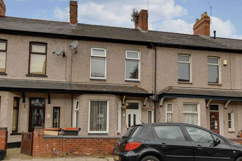 3 Bedrooms Terraced House for sale in Vivian Road, Newport