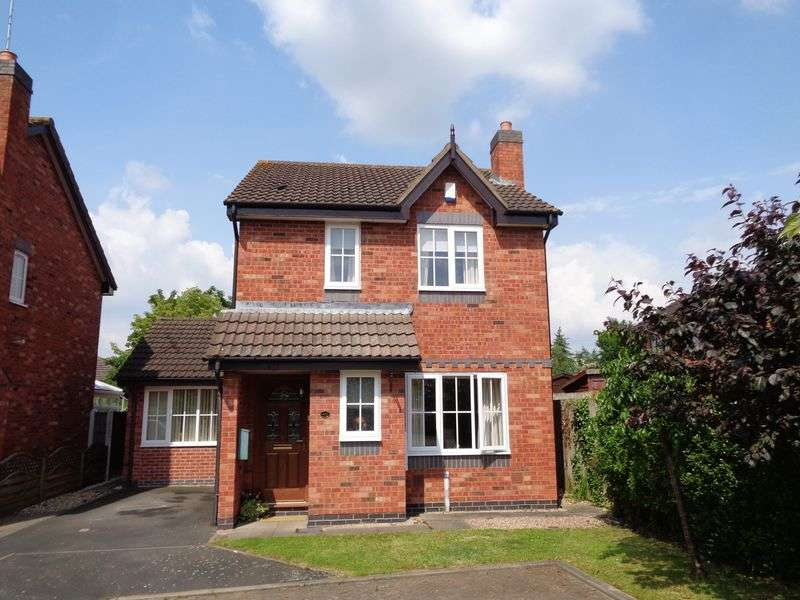 3 Bedrooms Detached House for sale in Fairwater Close, Evesham