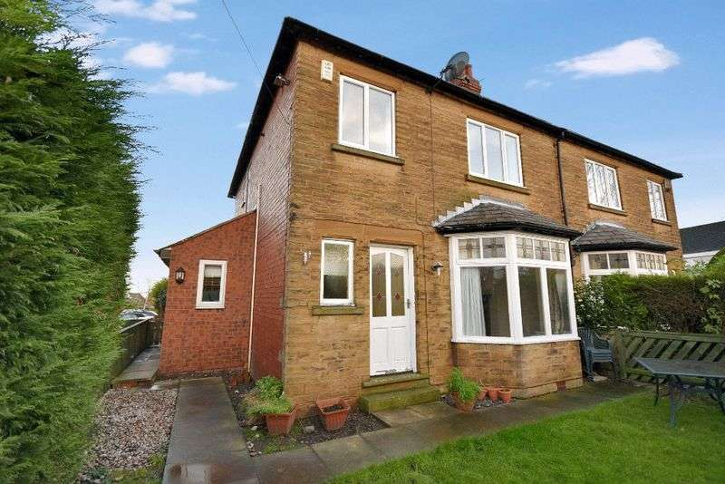 4 Bedrooms Semi Detached House for sale in Hall Cliffe Road, Horbury