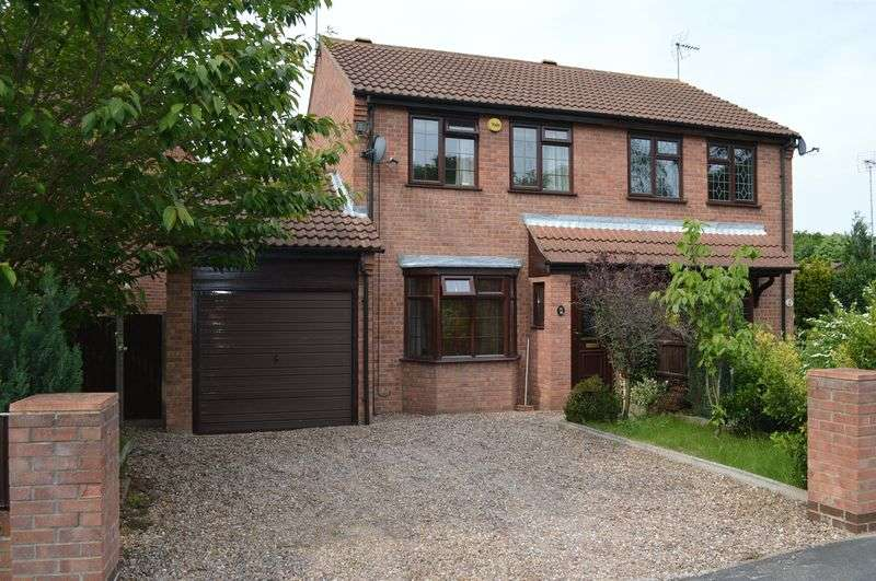2 Bedrooms Semi Detached House for sale in Benson Crescent, Lincoln