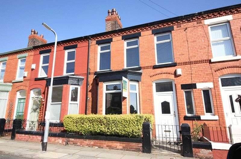 3 Bedrooms Terraced House for sale in Avonmore Avenue, Mossley Hill, Liverpool, L18