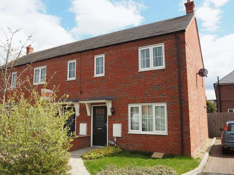 3 Bedrooms Semi Detached House for sale in Sam Derry Close, Newark