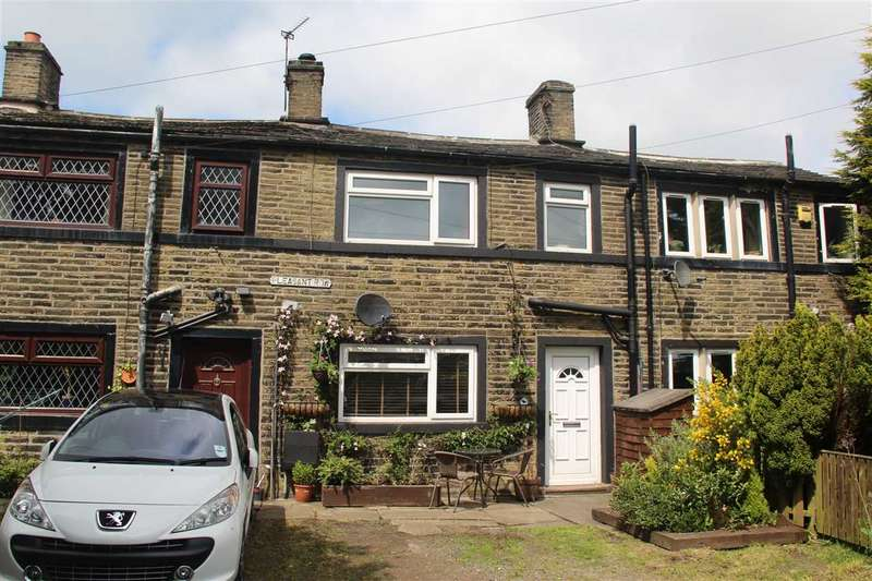 2 Bedrooms Terraced House for sale in Pleasant Row, Queensbury, Bradford