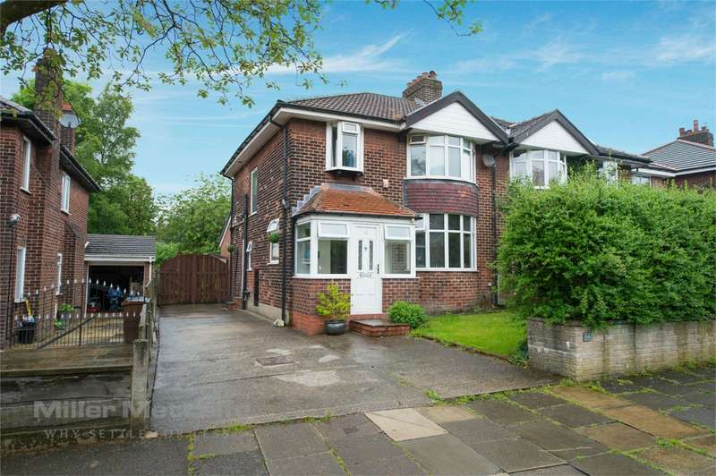 3 Bedrooms Semi Detached House for sale in West Drive, Walmersley, Bury, Lancashire