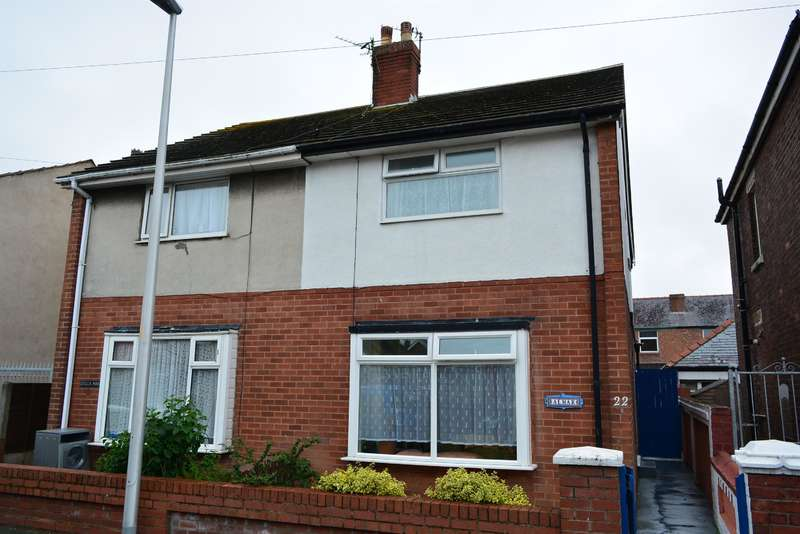 2 Bedrooms Semi Detached House for sale in Garton Avenue, Blackpool, Lancashire, FY4 2JW