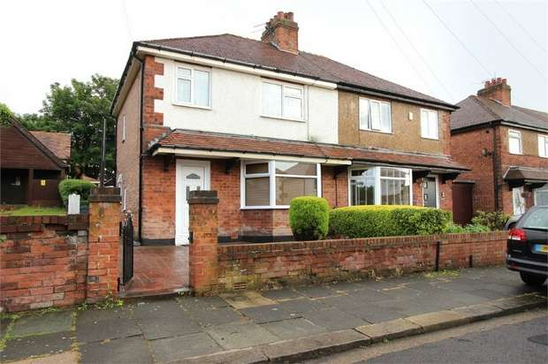 3 Bedrooms Semi Detached House for sale in Cannock Avenue, Blackpool, Lancashire