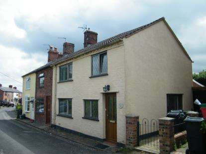 2 Bedrooms End Of Terrace House for sale in Main Road, Moulton, Northwich, Cheshire