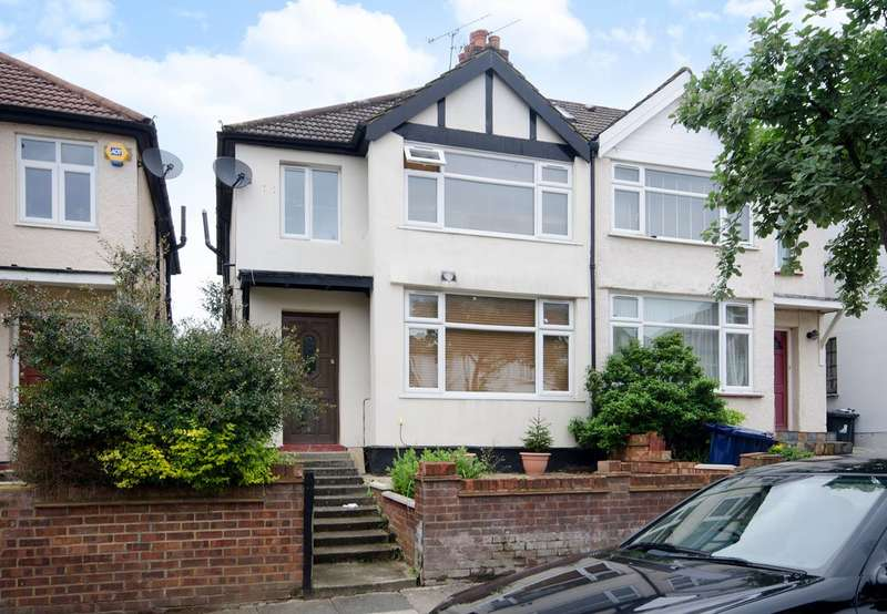 4 Bedrooms Semi Detached House for sale in Beechmount Avenue, Ealing, W7