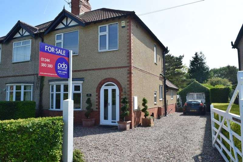 4 Bedrooms Semi Detached House for sale in Hermitage Road, Chester