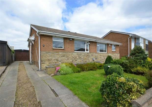 2 Bedrooms Semi Detached Bungalow for sale in Meadow Park, Kirkheaton, HUDDERSFIELD, West Yorkshire