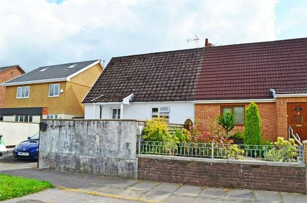 2 Bedrooms Semi Detached Bungalow for sale in Francis Street, Thomastown, Tonyrefail, Porth, Mid Glamorgan