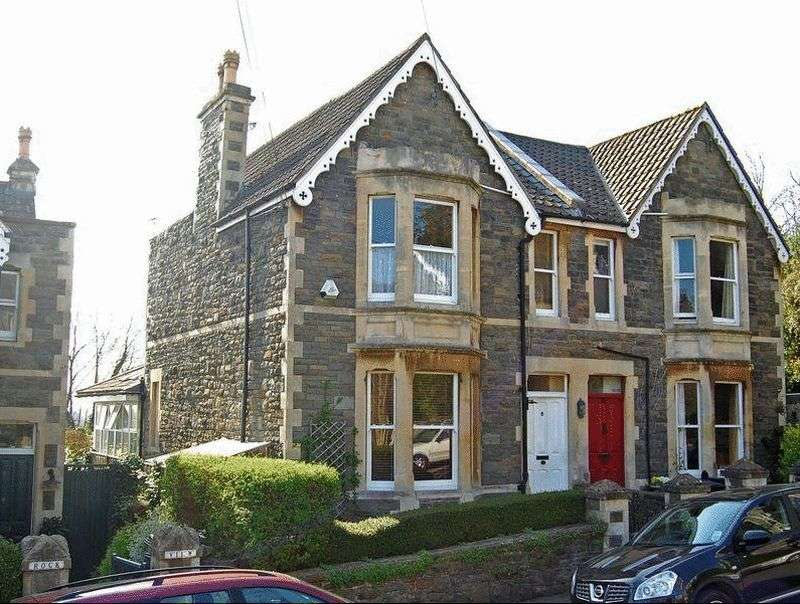 4 Bedrooms Semi Detached House for sale in St. Johns Avenue, Clevedon