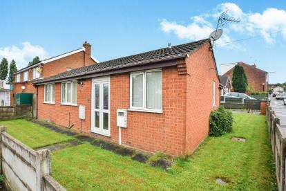 2 Bedrooms Bungalow for sale in Nuncargate Road, Kirkby-In-Ashfield, Nottingham